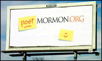 PostMormon.org Billboard