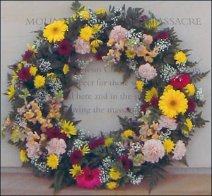 Wreath at Mountain Meadows