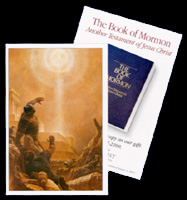 Pass Along Card — Book of Mormon