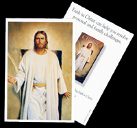 LDS Christ Pass Along Card