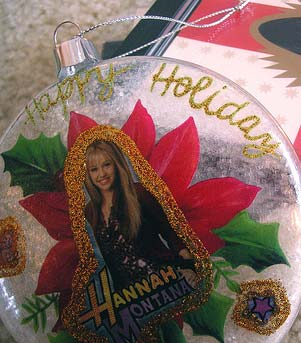 Hannah Montana Ornament