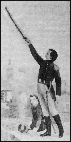Joseph Smith with Sword