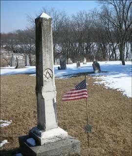 John C. Bennett Tombstone