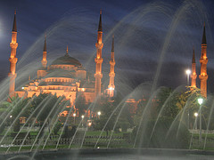 Blue Mosque by night – Istanbul