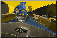 Classic Ford Hood Ornament