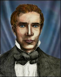 Joseph Smith by grindael watercolor