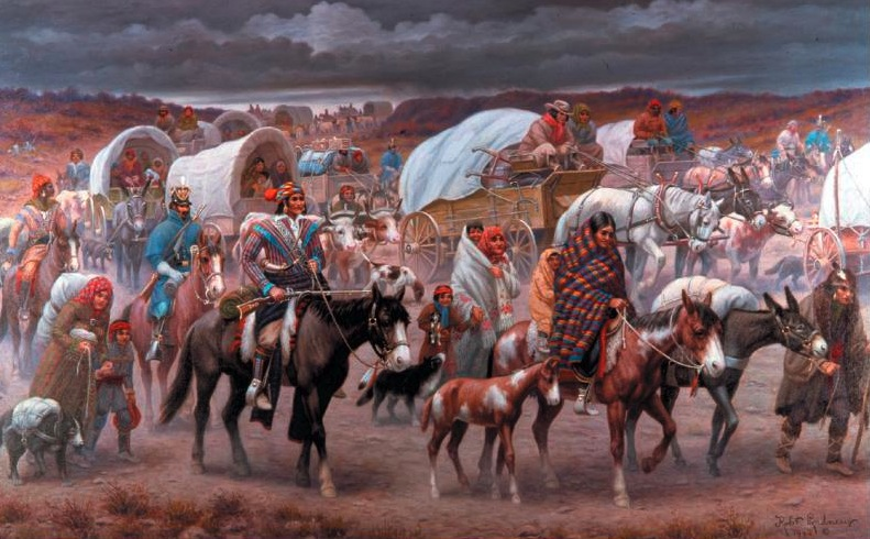 Trail of Tears, Robert Lindneux
