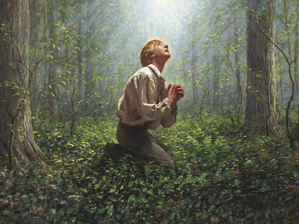 Sacred Grove Joseph Smith